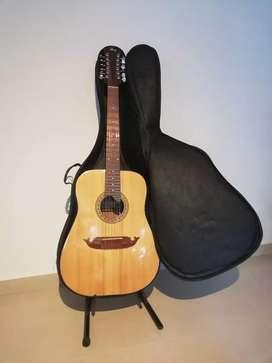 Guitarra HeCruz Electroacústica de 12 cuerdas
