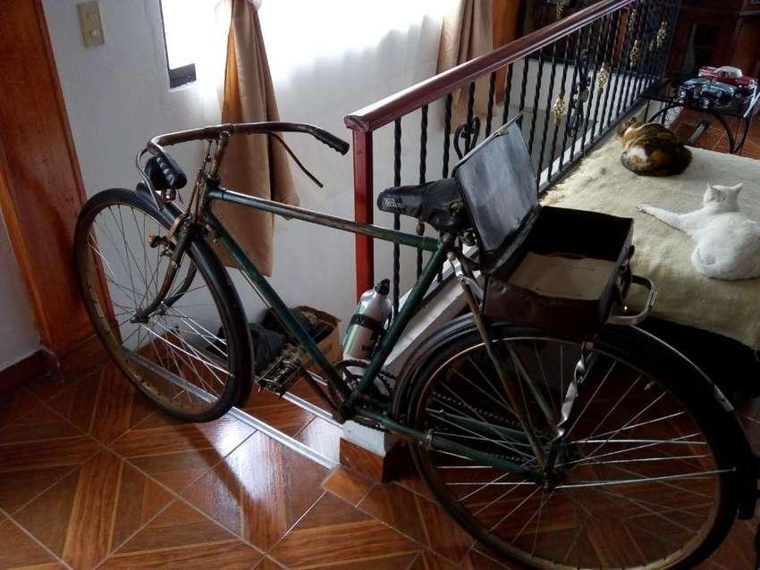Bicicleta Antigua Marca Eastmant 0