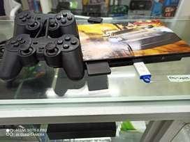 Vendo Playstation 2 + 2 palancas+USB +Memory Card