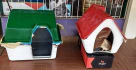 Vendo Casas para perros de fibra de vidrio