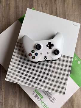 Xbox One S 4K 1 Tera Con todo