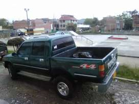 Nissan Frontier y Toyota Hilux