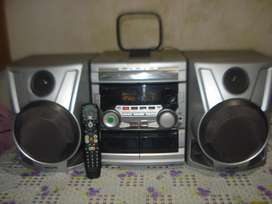 Minicomponente Philips Fw C58/18 Excelente Sonido!!