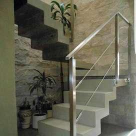 Barandas para escaleras, balcones con tensores T01