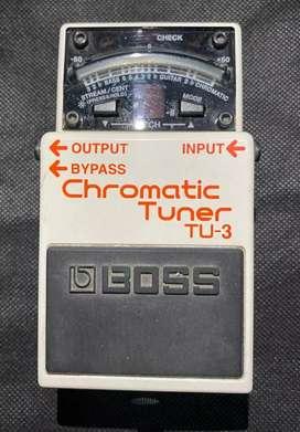 Pedal Afinador Boss Chromatic Tuner TU-3