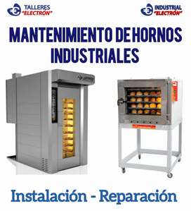 Reparacion de Hornos industriales de panaderias.