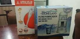 Combo Filtro purificador de agua y Procesador Manual