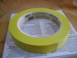 Cinta Scotch 3m 471 3/4 X 36 Yds Color Amarilla