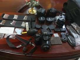 Cámara Rebel Canon Sl2
