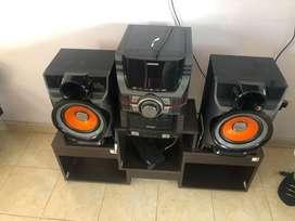 Equipo De Sonido Samsung Giga Bass Mxd-730