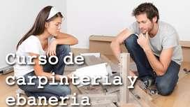 Clases online de carpinteria y ebaneria + software