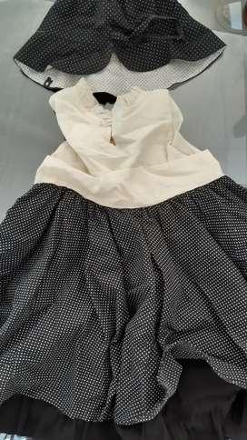 Vestido de fiesta CHIBEL  (2 año)