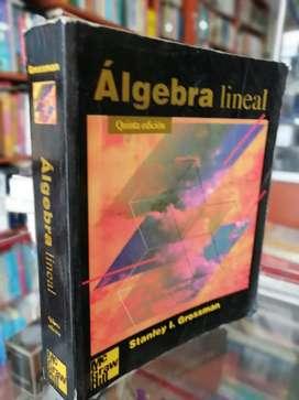 Álgebra lineal de grossman quinta edición buen estado entrega inmediata la cava del libro