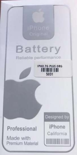 Batería iPhone 7 Totalmente Original