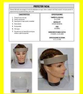 Careta protectora facial