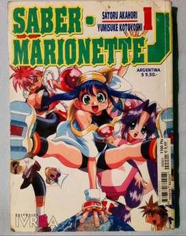 Manga de Saber Marionette J tomo 1