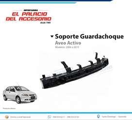 Soporte Guardachoque Chevrolet Aveo Activo 2006 a 2013