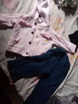 Ropa de niña en buen estado para niña de 1 año hasta 2 años