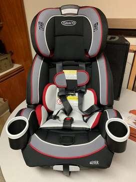 Silla auto para bebe/niño Graco 4Ever fe 0 meses a 7 años importada