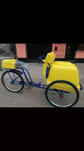 Triciclos  heladeros y baterias