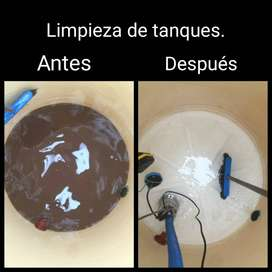 Limpieza de tanques en quilmes