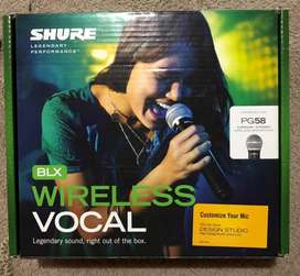 Micrófono shure, BLX WIRELESS VOCAL P58