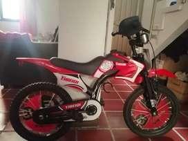 Vendo bicicleta estilo moto