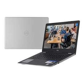 Laptop DELL Inspiron 3493 Core I5, 8GB DDR4, SSD 256GB, PANTALLA UHD, WINDOWS 10, NUEVAS CAJA SELLADA,