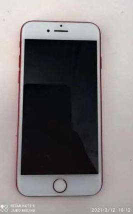 Iphone 7 de 128 gb, edicion especial color rojo