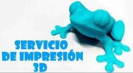 Servicio de Impresion 3D