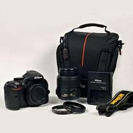 Camara Nikon D5200 estado 10/10