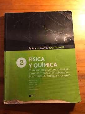 Libro Física y Química 2 Saber es clave SANTILLANA