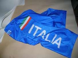 Pantaloneta ciclismo Italia Azul