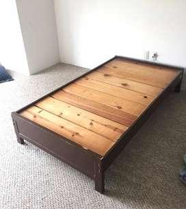 Base madera mas colchon