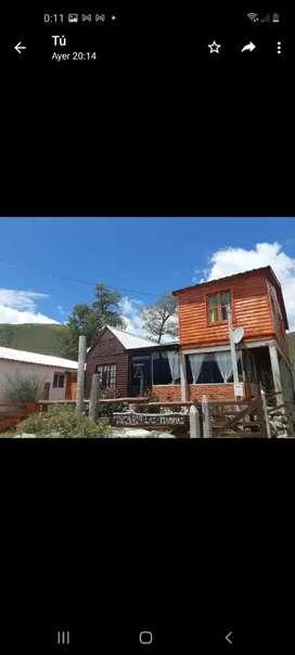 Alquiler temporario . Cabaña La Lolita. Un lugar ideal para descansar. Ubicado en costa 1 Tafi del Valle Tucumán.