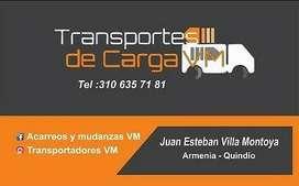 Servicio de Transporte y Mudanza