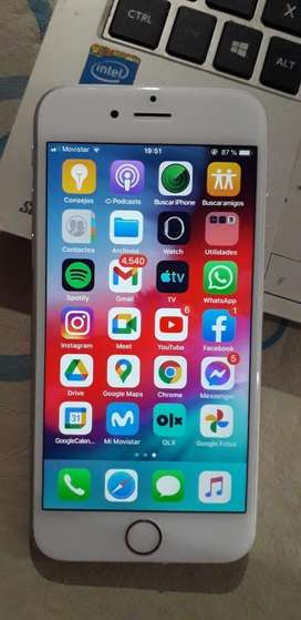 Permuto iphone 6 64 gb impecable