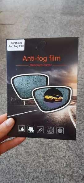 Anti fog film espejo retrovisor