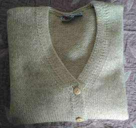 Saco de lana con botones Dama