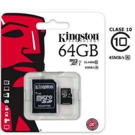 Micro Sd 64g Kingston