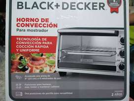 Horno.de.conveccion black.+ dacker
