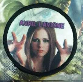Parches Avril Lavigne Bordado 8cm Accesorio Calcomania