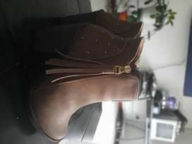 Botin Color Miel - Talla 37