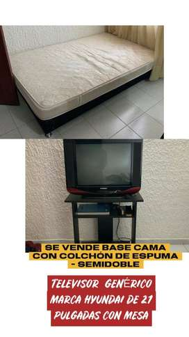 "Televisor Convencional Marca Hyundai 21"""