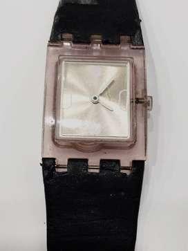 Reloj Swatch Para Mujer De Acrilico Rose