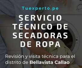 Servicio técnico de Secadoras de Ropa en Bellavista Callao  – Técnico de Secadoras de Ropa reparación Bellavista Callao