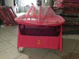 corral cuna nacional con 2 niveles toldillo tipo camping y cambiador para tu bebe