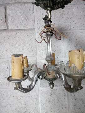 Lámpara Antigua Araña Estilo Francés