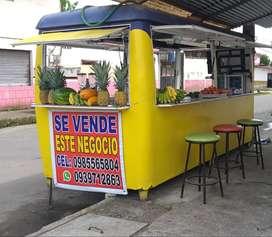 VENDO FOOD TRUCK - COCHE PARA COMIDAS RAPIDAS
