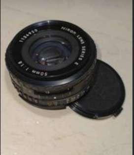 Lente para camara Nikon